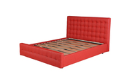 Red Lift-Up Storage Bedframe